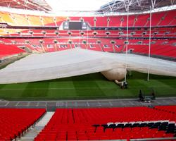 Inflatable Field Cover - Covermaster