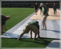 Football Field Turf Protection - Covermaster
