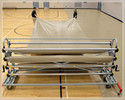 gym floor cover Racks and Handling Systems