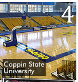 Easyroll Carpet Offers Simple Solution to Gym Floor Protection for Coppin State