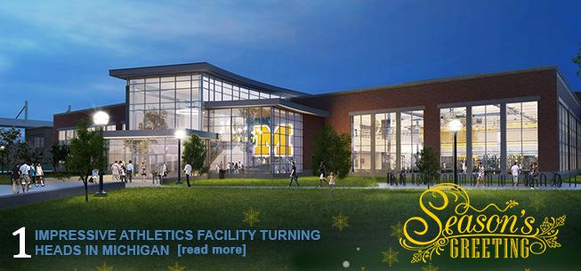 Impressive Athletics Facility Turning Heads in Michigan