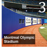 New Wall Padding for Montreals Olympic Stadium