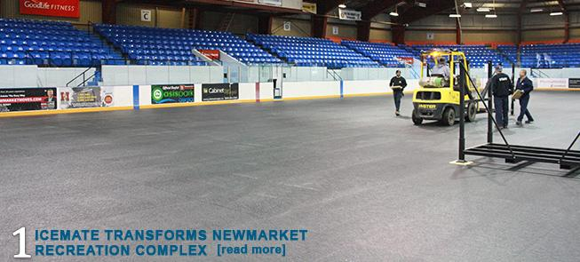 IceMate Transforms Newmarket Recreation Complex