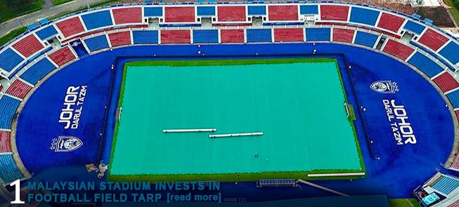 Malaysian Stadium Invests in Football Field Tarp