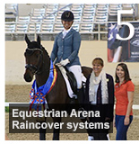 Raincovers and Air Rollers Bring Winning Combination to Riding Arenas