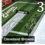 Covermasters Raincover Field Tarps Have Long History with Cleveland Browns